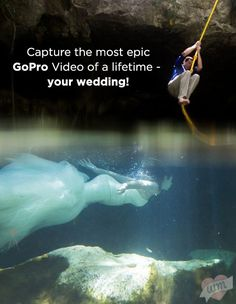 Looking for the coolest event to capture with a GoPro? How about YOUR WEDDING? WeddingMix professionals will custom edit your EPIC GoPro wedding video especially for YOU!