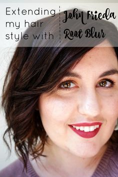 How I Extend my Hair Styles with John Frieda Root Blur // #ad #collectivebias #RethinkColour