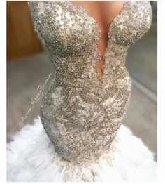 The Perfect Wedding Dress For The Bride - Aspire Wedding Stunning Wedding Dresses, Dream Wedding Dresses, Beautiful Gowns, Bridal Dresses, Wedding Gowns, Bridesmaid Dresses, Prom Dresses, Mermaid Wedding Dress Bling, Crystal Wedding Dresses