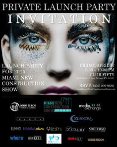2015 Miami New Construction Show Launch Party: http://www.soflanights.com/?p=136924