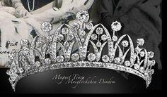 LILY OF THE VALLEY Diamond Tiara by Boucheron (Princess Augusta Victoria of Hohenzollern-Sigmaringen 1890 -1966)