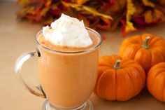 Are you obsessed with pumpkin flavored delights? Did you know that the antioxidant-rich squash can be used for breakfast smoothies also? This is a simple pumpkin smoothie recipe that you'll probably want. Vegan Smoothie Recipes, Vegan Recipes, Cooking Recipes, Healthy Smoothies, Fall Recipes, Healthy Eats, Pumpkin Pie Smoothie, Pumpkin Spice Latte, Spiced Pumpkin