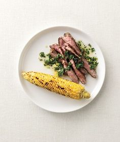 Steak With Chimichurri Sauce from realsimple.com #myplate #protein