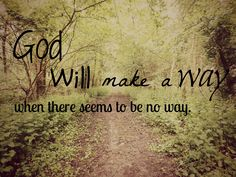 God is my saviour!!