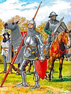 """""""The militia in the service of the Prussian Order, approx. 1420"""""""