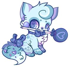 :Blueberry Lollipop: by PrePAWSterous.deviantart.com on @deviantART