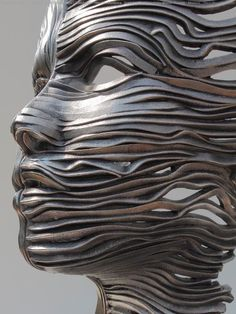 Gil Bruvel 1959 Stainless Steel sculpture
