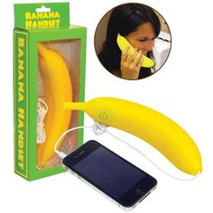 HELLO... Get this banana phone for your white elephant party gift!