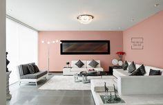 Con nuestro color Flor de Lys, tu sala será el centro de atención.