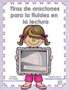 Fluency Practice: Sentence strips in Spanish - check more on my website Dual Language Classroom, Bilingual Classroom, Bilingual Education, Spanish Classroom, Vocabulary Activities, Language Activities, Teaching Activities, Reading Fluency, Reading Skills