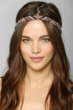 Woven Beaded Headwrap #urbanoutfitters