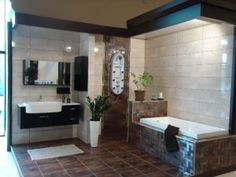 Making Life Easier With Bathroom Wall And Floor Tiles Types Of Floor Tiles, Best Floor Tiles, Types Of Flooring, Wall And Floor Tiles, Bathroom Vanities, Bathroom Wall, Bathrooms, Corner Bathtub, Environment