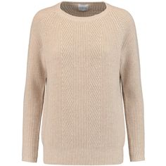 MADELEINE THOMPSON WOMAN RIBBED-KNIT WOOL AND CASHMERE-BLEND SWEATER ECRU.  #madeleinethompson #cloth # | Madeleine Thompson | Pinterest | Madeleine,  Rib ...