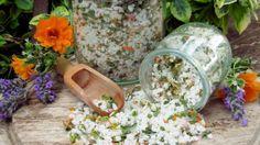 Flower and Herb Salt