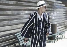 Lo mejor del Street-Style el la feria masculina más importante del mundo de  la abc8fa545b2