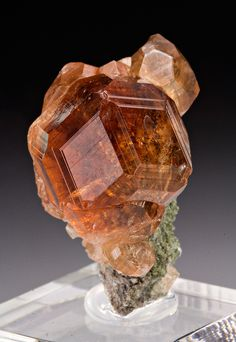 Grossular - Jeffrey Mine, Asbestos, Shipton Township, Richmond Co., Quebec, Canada