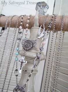 DIY jewelry holder!