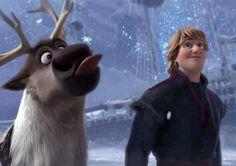 *SVEN & KRISTOFF ~ Frozen, 2013.....when the winter is taken back.