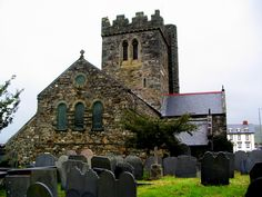 St Cadfans Church, Tywyn - I sang in this church with the Judson College Choir in 2003