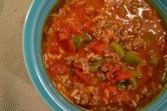 Stuffed pepper soup....