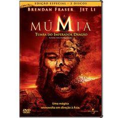 DVD Múmia:Tumba do Imperador Dragão - Duplo