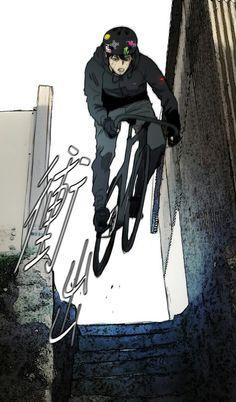 Urban Cycling, Cycling Art, Cycling Bikes, Bicycle Illustration, Vintage Illustration Art, Comic Style Art, Comic Styles, Fixed Gear Bike, Wind Breaker