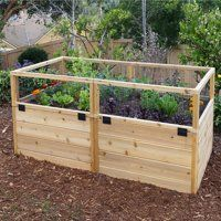 Raised Bed Soil Walmart Com With Images Vegetable Garden