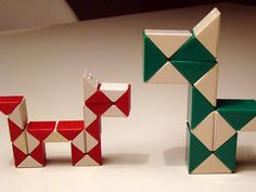 The Rubiks snake, I didn't know what these were called.