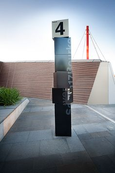 Seven17 Bourke Street signage | Design by Pidgeon