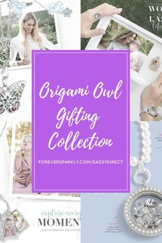 Come see the 2017 Origami Owl Gifting Collection. Origami Owl Home Decor Living Locket Photo Frame   Origami Owl Pearls   Origami Owl Essential Oil Jewelry   Origami Owl Ring   Origami Owl Watch   Email kristy@foreversparkly.com for a free gift!