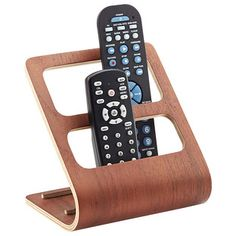Proof everyday items can be gorgeous too! The unique design of our Bentwood Remote Control Rack holds up to four remotes in an upright position.