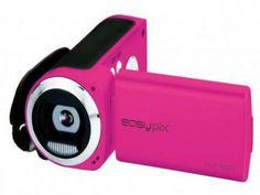 Camera video easypix dvc5227p, flash, hd, roz - Anunturi Gratuite