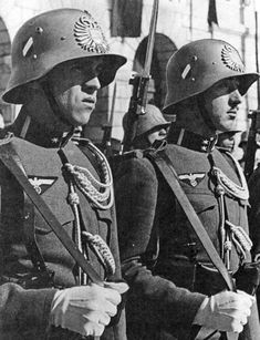 The structure of the Austrian soldiers included in the Nazi Wehrmacht after the Anschluss of Austria. As a result of the annexation of Austria by Germany on March 12-13, 1938, the territory of the...