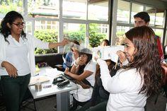 Los equipos utilizaron diversos elementos para exponer sus trabajos ante sus compañeros del #P02Jiutepec