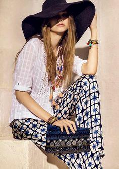 ╰☆╮Boho chic bohemian boho style hippy hippie chic bohème vibe gypsy fashion indie folk the . Hippie Style, Gypsy Style, Hippie Chic, Boho Chic, My Style, Bohemian Style, Estilo Hippy, Estilo Indie, Indie Fashion