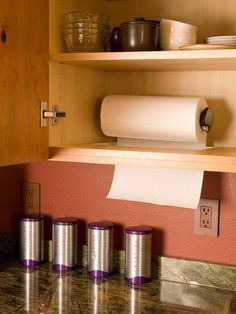 Keep Your Paper Towel Hidden yet Accessible.