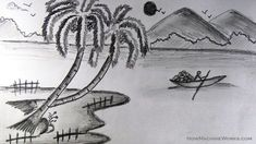 """a little more artistic than a pure pencil sketch. the """"blurriness"""" of it gives a different feel."""