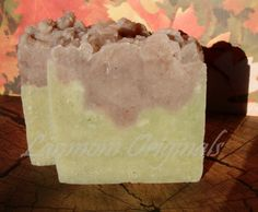Cinnamon Tea Tree Utah handmade soap! Beautifully luxurious and fragrant vegan soap that will pamper your skin and your mind. The clean crisp scent of tea tree is accented with a splash of cinnamon, making this a great unisex soap! www.BountifulSoap.com