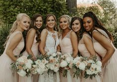 """Northern California Florist on Instagram: """"Can't wait for the days to be this close to friends and family again! 👯♀️ . . . #blushwedding #bridesmaid #weddingbouquets"""" Wedding Bouquets, Wedding Dresses, Northern California, Bridesmaid Dresses, Party, Beautiful, Instagram, Friends, Fashion"""
