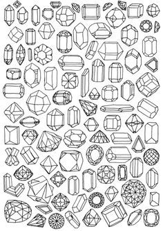 drawing of people turning into crystals - Google Search