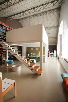 Loft ~ I've always wanted to live in one.