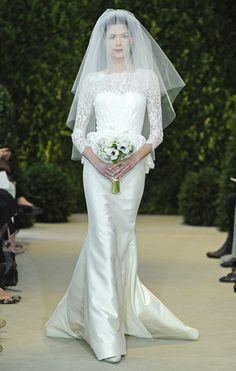 Alyssa Carolina Herrera Spring Bride Collection 2014