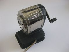 Boston Vacuum Mount Pencil Sharpener by MyLittleSomethings on Etsy, $20.00
