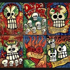 Day of the Dead Sugar Skulls Tee | CafePress.com