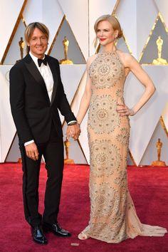 Keith Urban Grabbed Nicole Kidman's Butt on the Oscars Red Carpet