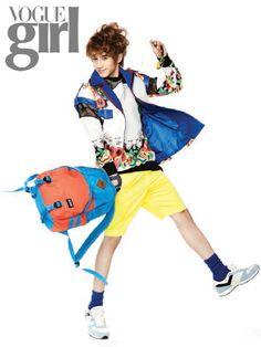 Min Woo - Vogue Girl Magazine