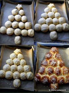Irène`s Leckereien♥: Tannenbaum-Brioche Irène`s Leckereien♥: Tannenbaum-Brioche Christmas Snacks, Christmas Brunch, Xmas Food, Christmas Cooking, Holiday Appetizers, Holiday Recipes, Xmas Dinner, Winter Desserts, Pumpkin Recipes