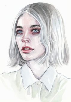 Watercolor Portrait by Tomasz-Mro on DeviantArt