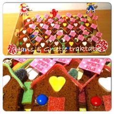 Traktatie Hans en Grietje koekhuisjes 2 Birthday, Little Girl Birthday, Birthday Treats, Party Treats, Party Favors, Birthday Parties, Little Presents, School Treats, Happy Foods