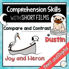 WHY Short films are highly effective tools when teaching comprehension skills, especially with English language learners. Most short films a. Reading Comprehension Skills, Reading Skills, Teaching Reading, English Language Learners, Spanish Language Learning, Language Arts, Picture Writing Prompts, Sentence Writing, Listening Skills